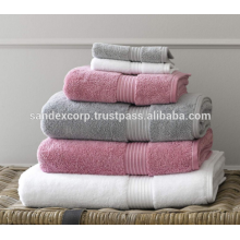serviettes de bain spa à domicile