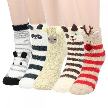 Ladies Home Socken Animal 5P