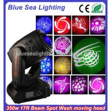 17r 350W china sharpy movendo feixe de luz do feixe de cabeça