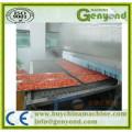 Túnel de congelación rápida para alimentos marinos