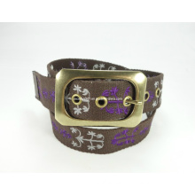 Fashion Embroidery Canvas Belt for Women (EUBL0617-38)
