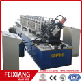 High speed c profile steel channel machine