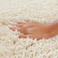 chinese hotel designer waterproof long hair shaggy rug pad