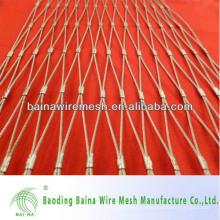 1mm Diâmetro do fio 1 Inch Hole Stainless Steel 304 Ferrule Netting