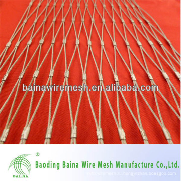 1 мм Диаметр проволоки 1-Дюймовая нержавеющая сталь 304 Ferrule Netting