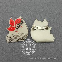 Pin de lapela de impressão offset, emblema organizacional (GZHY-LP-021)