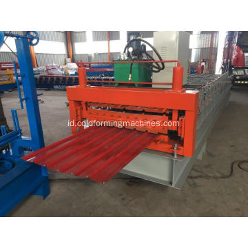 IBR Aluminium Metal Sheet Roofing Wall Panel Machine