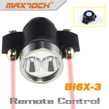Maxtoch-BI6X-3 Laser hochwertige Material lange Laufzeit Cree XM-L T6 Led Fahrradlicht