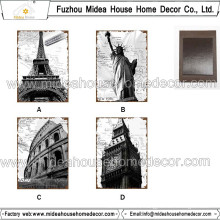 Famous Buildings Souvenir Fridge Magnet
