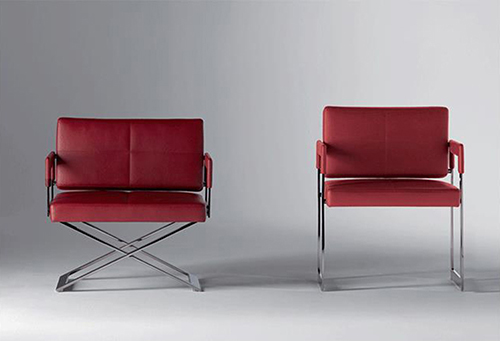 Leather Lounge Armchair