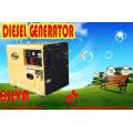 Prix le plus bas 6000W 6kw Portable Diesel Silent Generator, 7.5kVA Silent Type