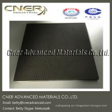 Rigidez de 10 mm de placa laminada de fibra de carbono.