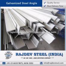 Altamente duradero La mayoría del ángulo de acero galvanizado vendiendo con la vida de trabajo larga