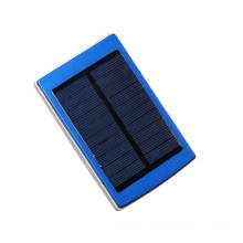 usb solar Mobile Phone charger with 1800mAh lithium battery