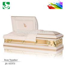 velvet lining quick deliver 18 ga 20 ga metal casket