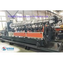 PLA biodegradable sheet machines