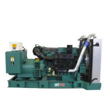 250квт Открытый Тип Тепловозный комплект генератора с двигателя Wudong