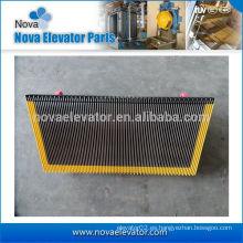 Escalera baratos de aluminio amarillo peine