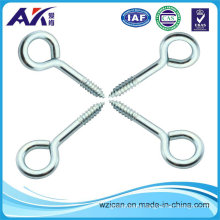 Large Screw Eye in Steel Material Zinc Plated Surface Size From No. 00 to No. 20