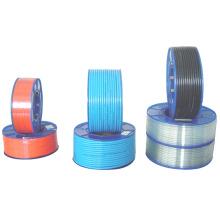 Tubo pneumático do encaixe pneumático da cor do tamanho do material 8mm do plutônio