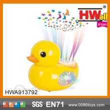 English Version Rhubarb Duck Kids Story Projector Toy