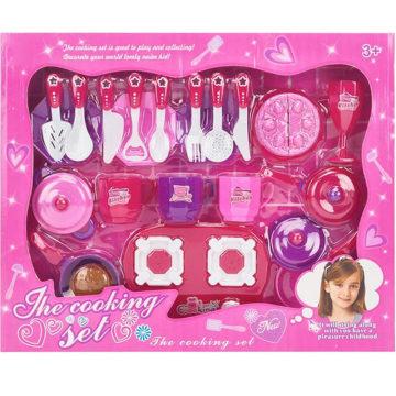 Plastikgeschirr für Mädchen und Spiel Haus Spielzeug