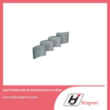 Aimant de NdFeB arc fabriqué par l'usine de porcelaine de haute qualité