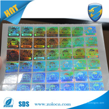 ZOLO top selling brand protection scratch off sticker, security holographic label