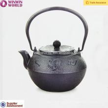 1.2 L hohe Qualität LFGB Gusseisen Emaille Teekanne mit Edelstahlfilter