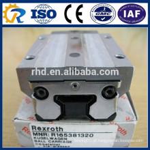 Rexroth CNC Peças Bloco Runner R165381320 Linear Guias Bloco de trilhos