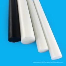 Barra redonda de acetato de preto e branco