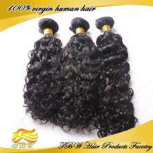 2015Neue Produkte! Remy europäisches lockiges Haar in den Haar-Erweiterungen