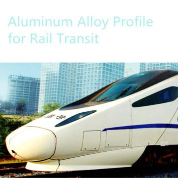 Profil en aluminium pour transport métro corps