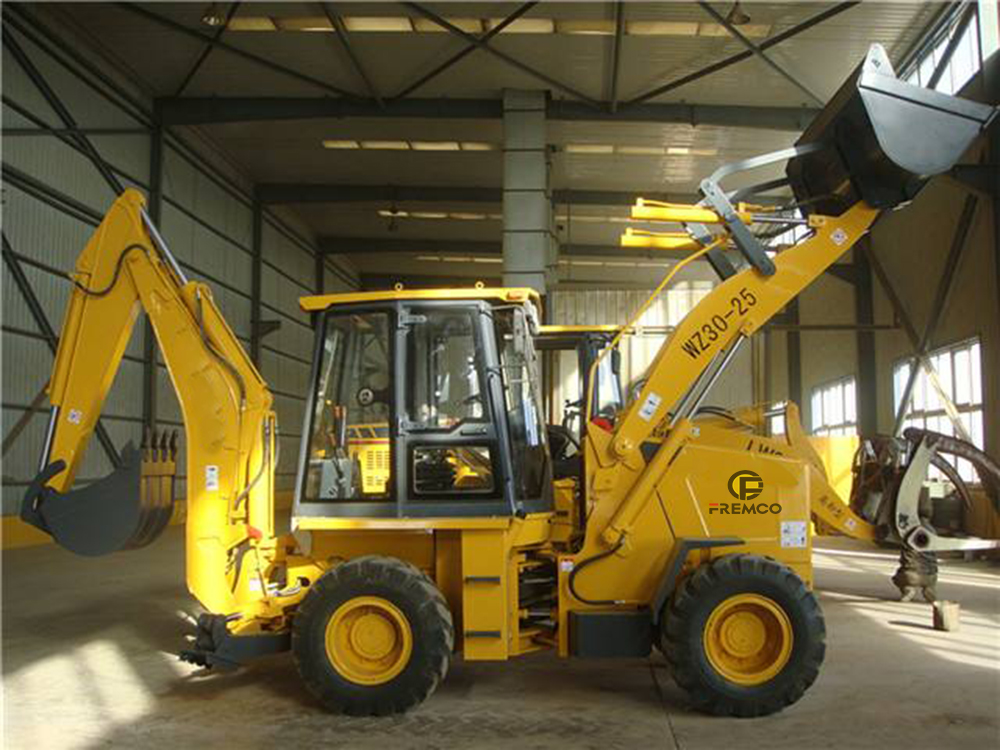 cheap backhoe loader
