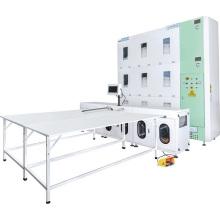 Automatización de la máquina de llenado de edredones de plumón