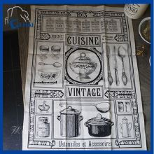 Cotton Cotton Linen Tea Towel (QHD99091)