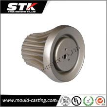 Nach Maß LED-Birnen-Lampen-Schatten-Aluminium-Investitions-Gussteil-Teile