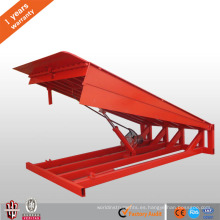 Nivelador de rampa de muelle de carga CE