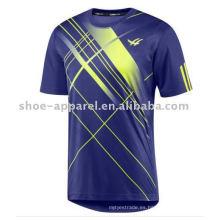camiseta de los deportes del jersey de fútbol de la sublimación de la marca de los hombres superiores