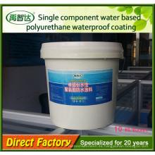 Pintura impermeable de poliuretano a base de agua de un solo componente