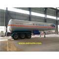 59100 Litres 3 Axle LPG Trailer Tanks