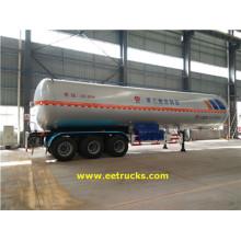 59100 liter 3 as LPG Trailer Tanks