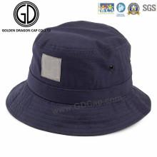 China Profesional Cap Classic sombrero de cubo en blanco con logotipo personalizado