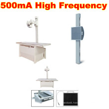 Top-Selling 500mA High Frequency X-ray with Flat Panel Detector