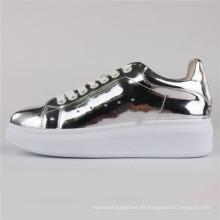 Frauen Schuhe PU-Einspritzung Schuhe Freizeitschuhe Snc-65004-Slv