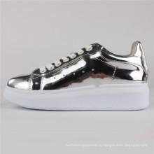 Женская обувь ботинки PU инъекции ботинки СНС-65004-Слв