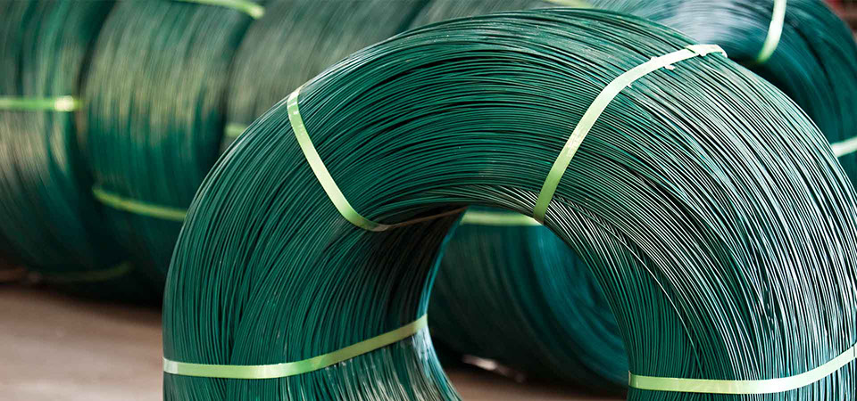 Plastic Coated Steel Iron Wire