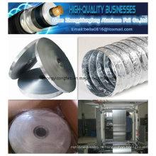 Клейкая двухсторонняя / односторонняя алюминиевая фольга Клейкая лента Mylar для кабеля Coxial (скрепленная al-pet emaa)