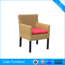 Chaises de restaurant meubles en osier