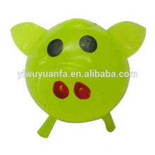 Colorful Pig Splat Ball